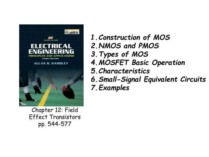 Construction of MOS