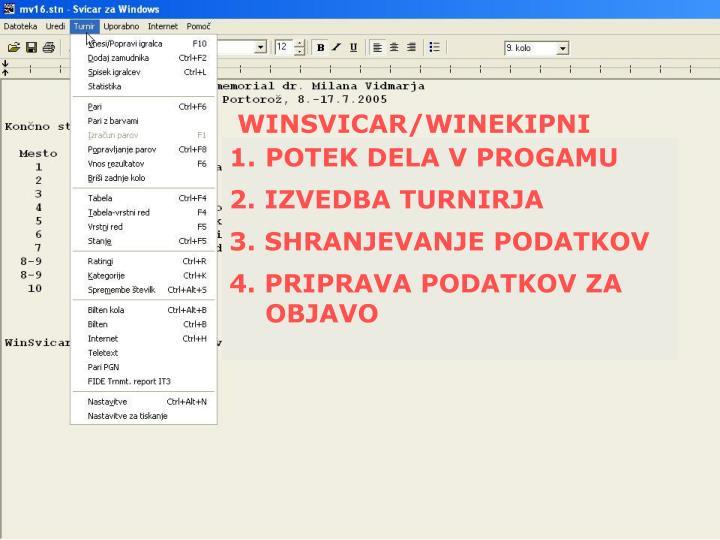 WINSVICAR/WINEKIPNI