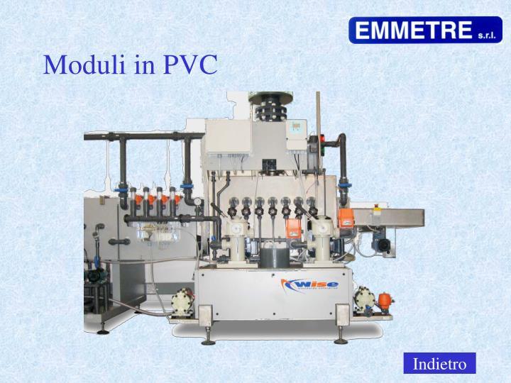 Moduli in PVC