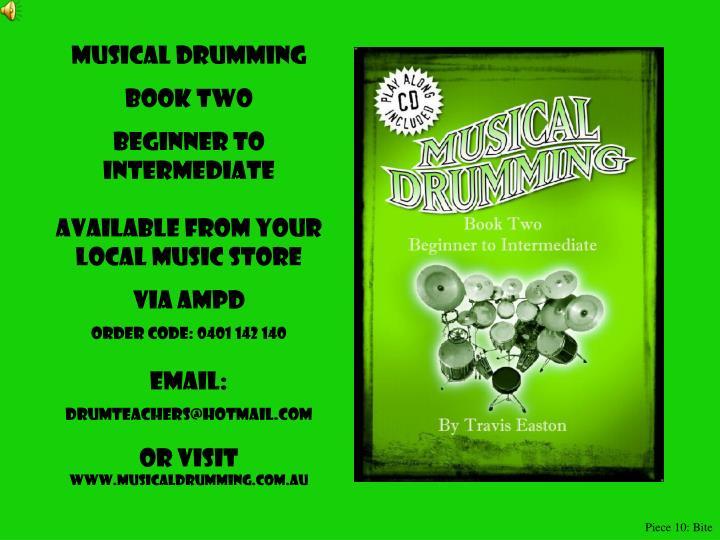 Musical Drumming