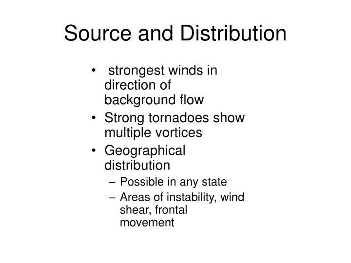 Source and Distribution