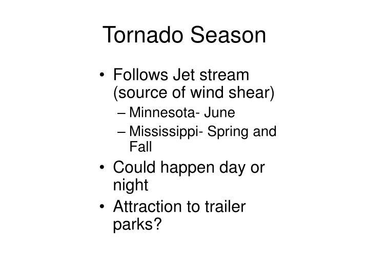 Tornado Season