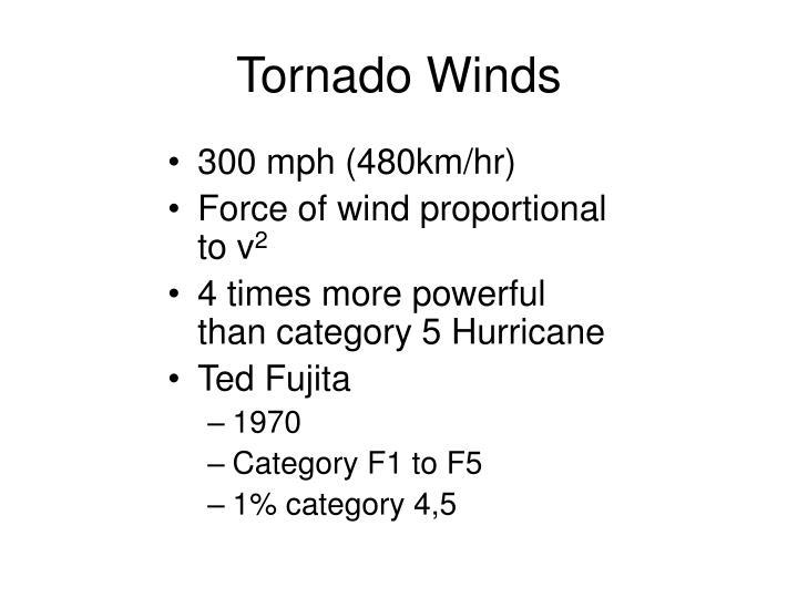 Tornado Winds