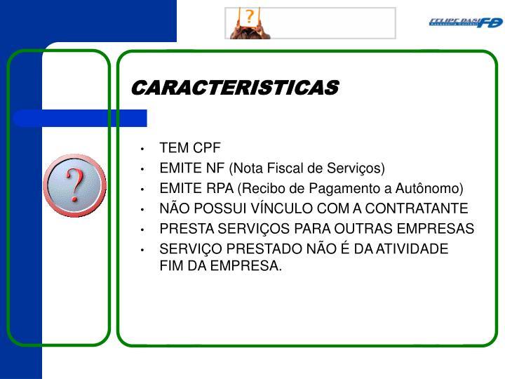 TEM CPF