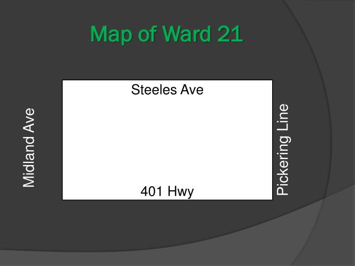 Map of Ward 21