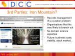 3rd parties iron mountain