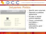 3rd parties portico