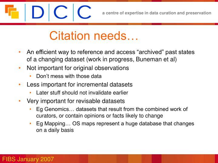 Citation needs…