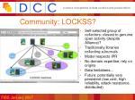 community lockss