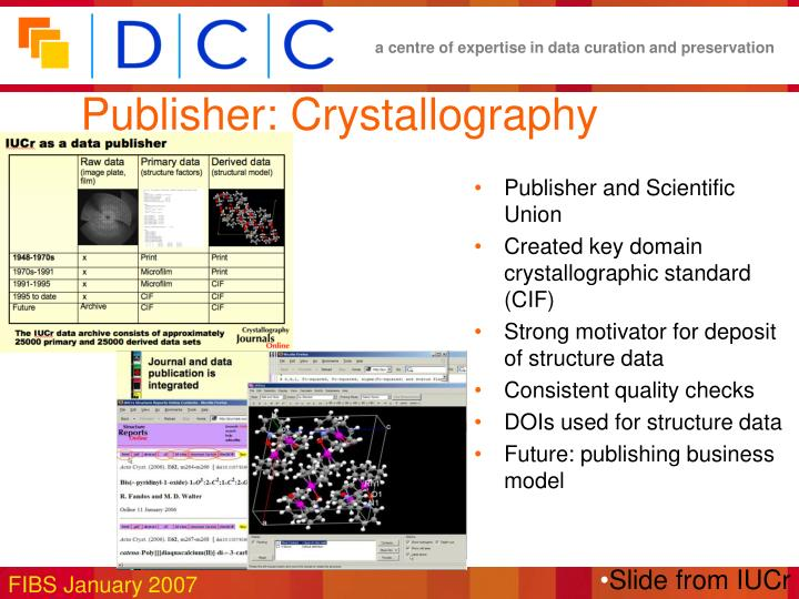 Publisher: Crystallography