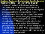 cambrian explosion evolutionists have no answers4