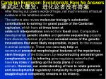 cambrian explosion evolutionists have no answers5