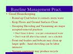 baseline management pract