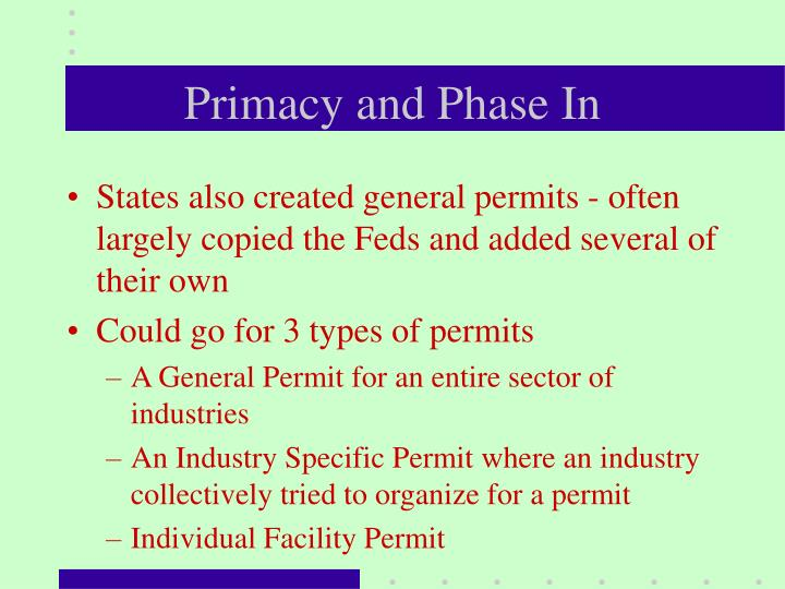 Primacy and Phase In
