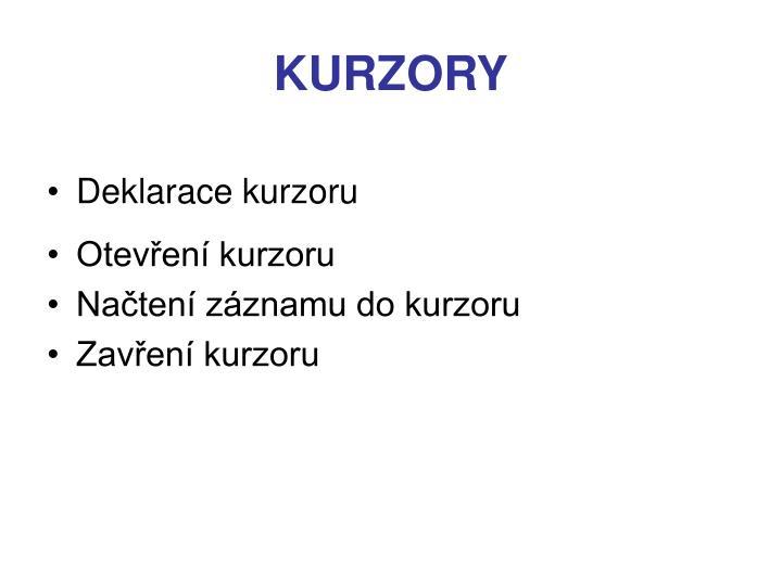 KURZORY