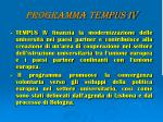 programma tempus iv1