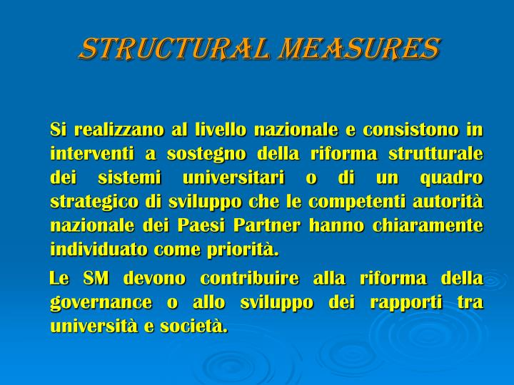 Structural Measures