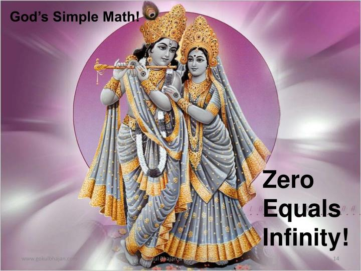 God's Simple Math!