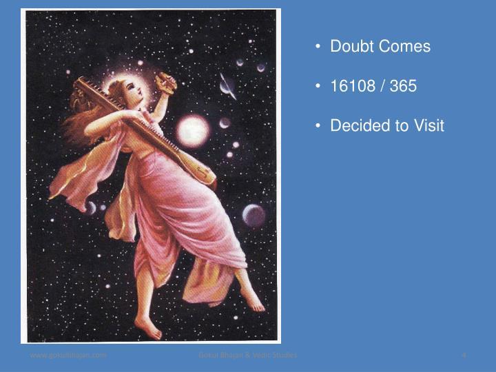 Doubt Comes