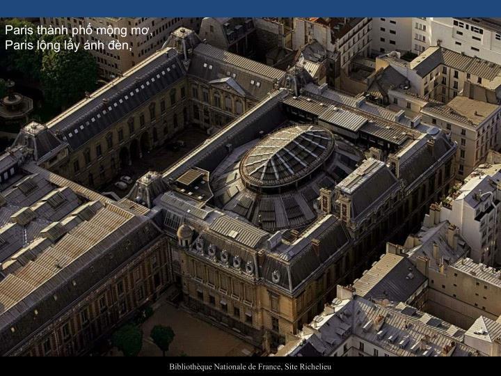 Paris thành phố mộng mơ,