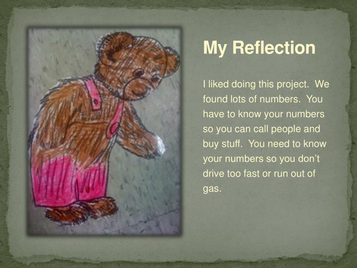 My Reflection