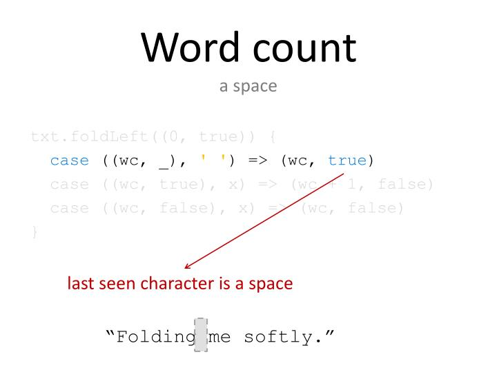 Word count
