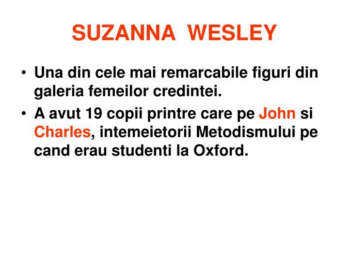 SUZANNA  WESLEY