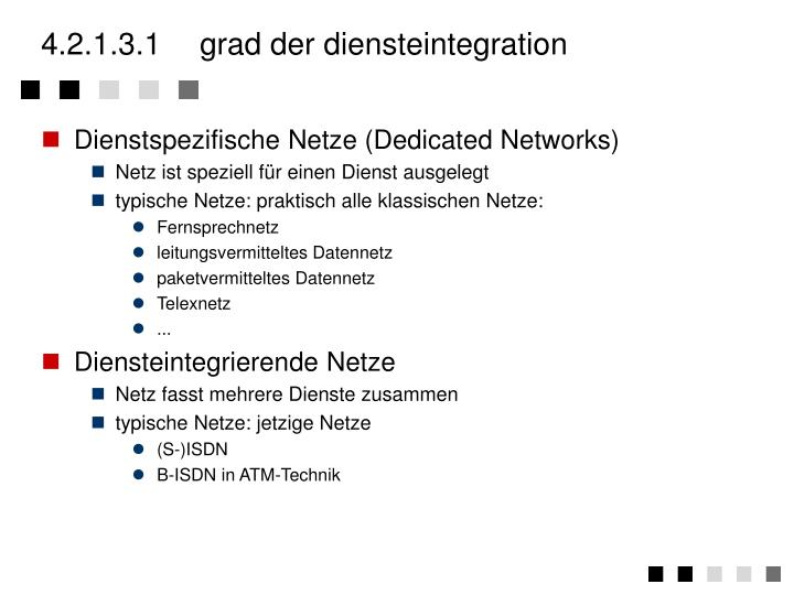 4.2.1.3.1	grad der diensteintegration