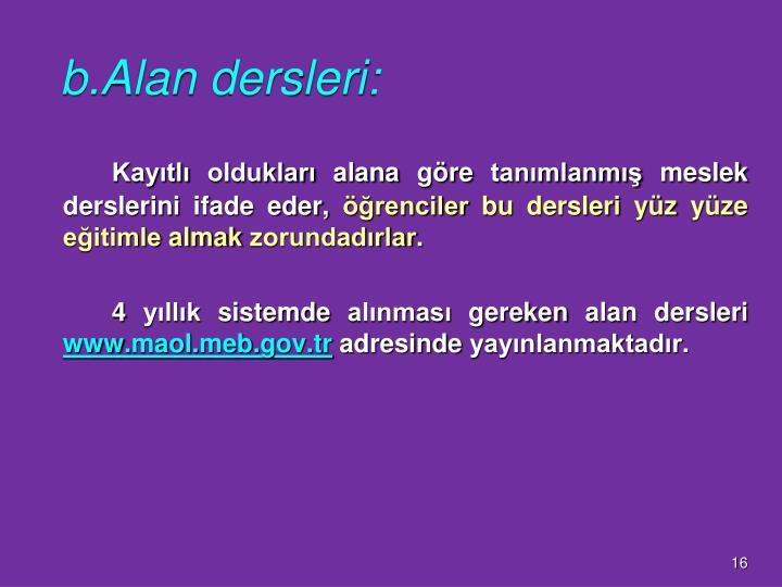 b.Alan