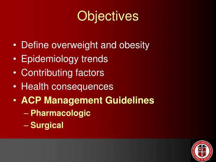 Define overweight and obesity