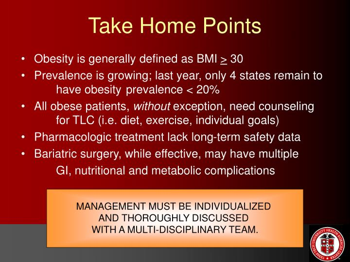 Obesity is generally defined as BMI