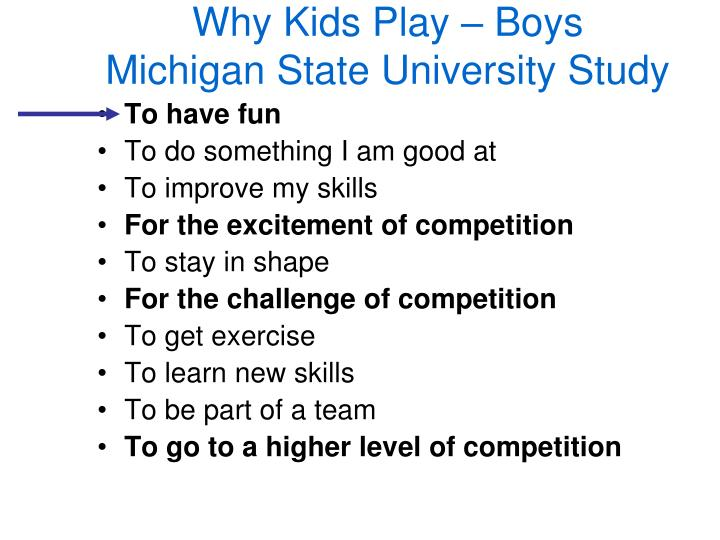 Why Kids Play – Boys