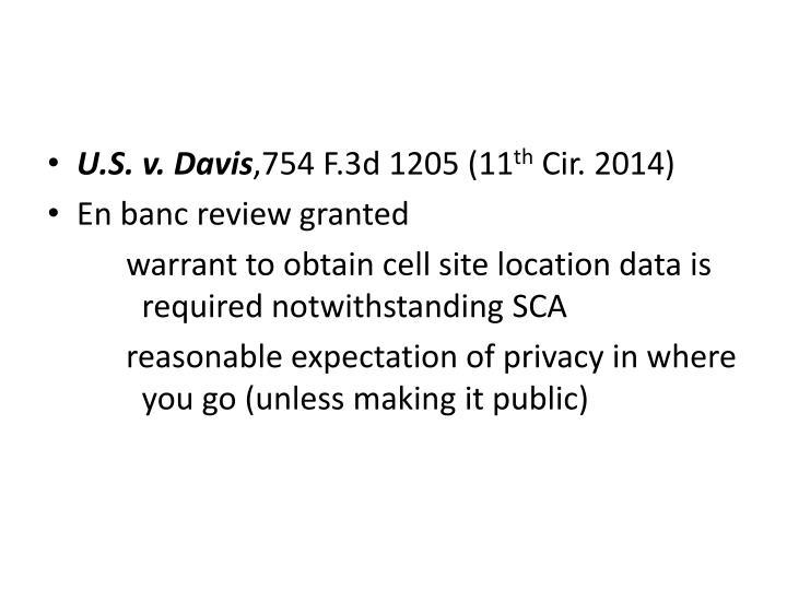 U.S. v. Davis