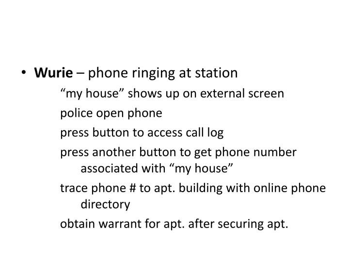 Wurie