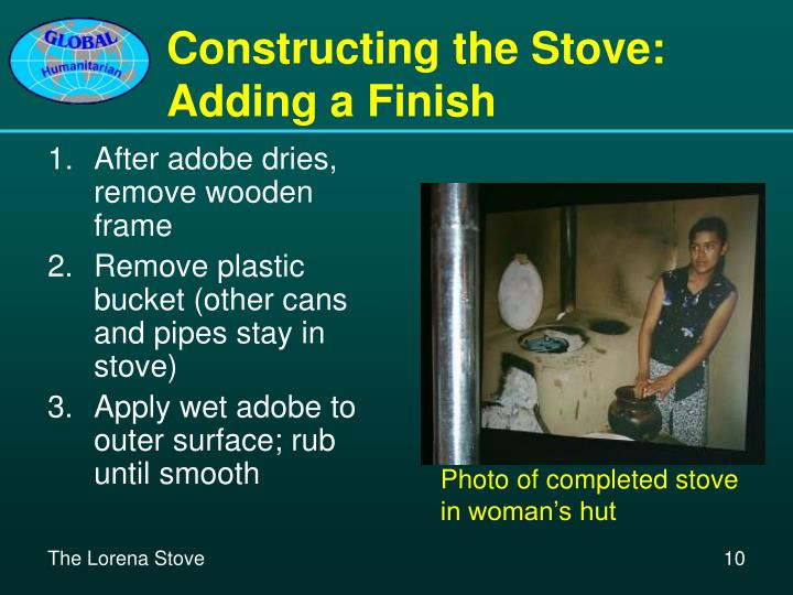 Constructing the Stove: Adding a Finish