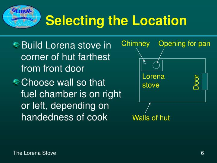 Selecting the Location
