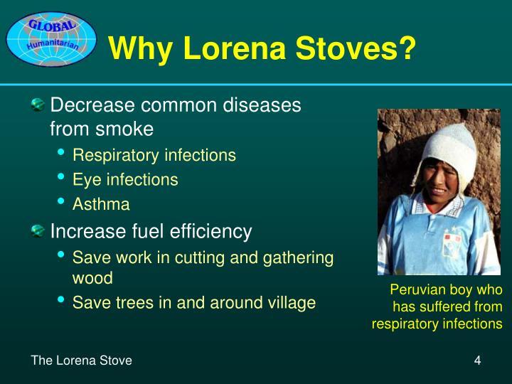 Why Lorena Stoves?