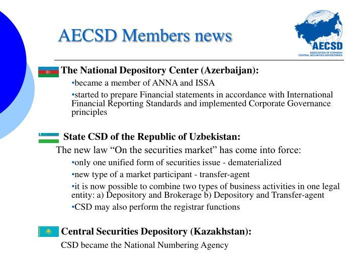 AECSD Members