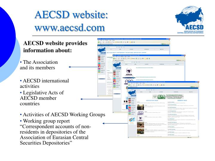 AECSD website