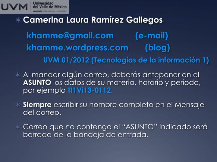 Camerina Laura Ramírez Gallegos