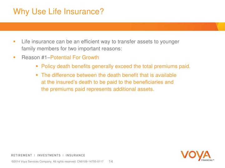 Why Use Life Insurance?