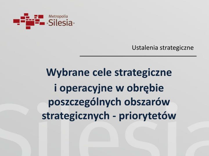 Ustalenia strategiczne