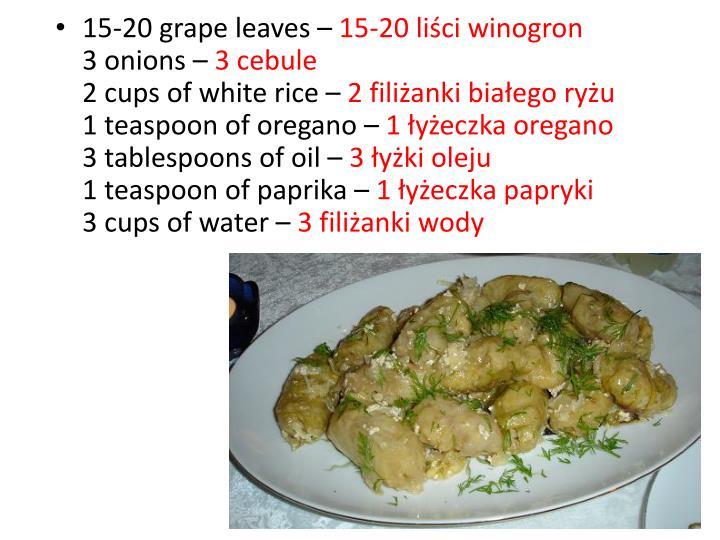 15-20 grape