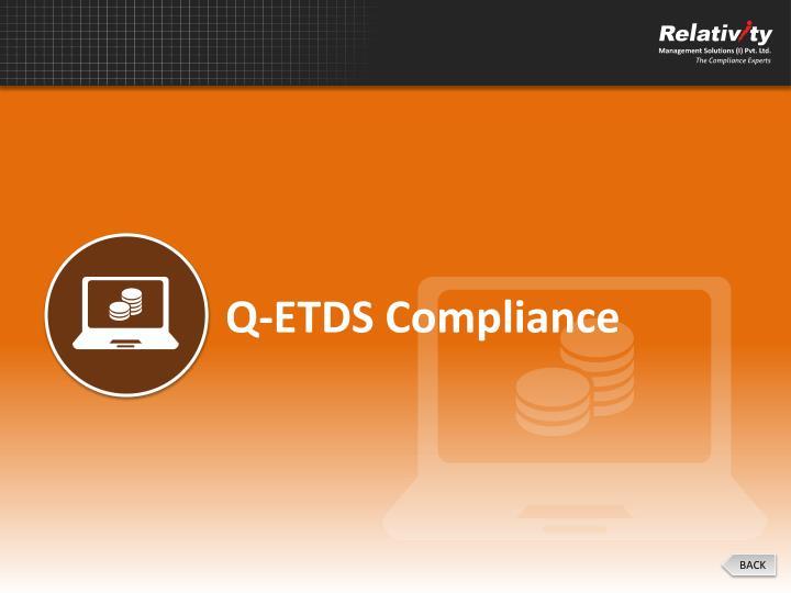 Q-ETDS Compliance
