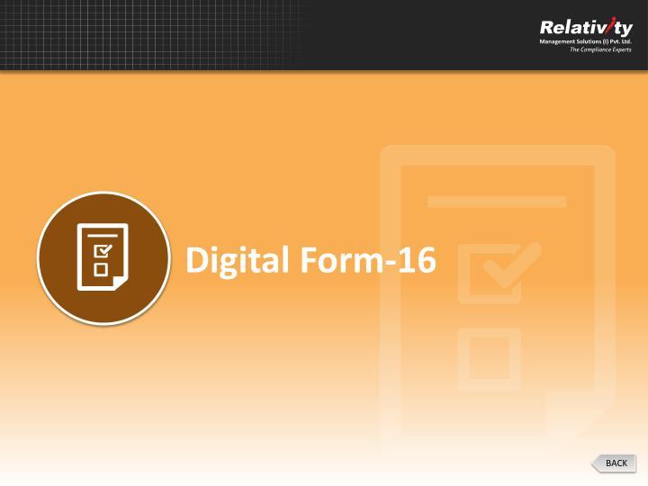 Digital Form-16