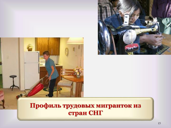 Профиль трудовых