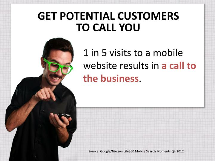 GET POTENTIAL CUSTOMERS