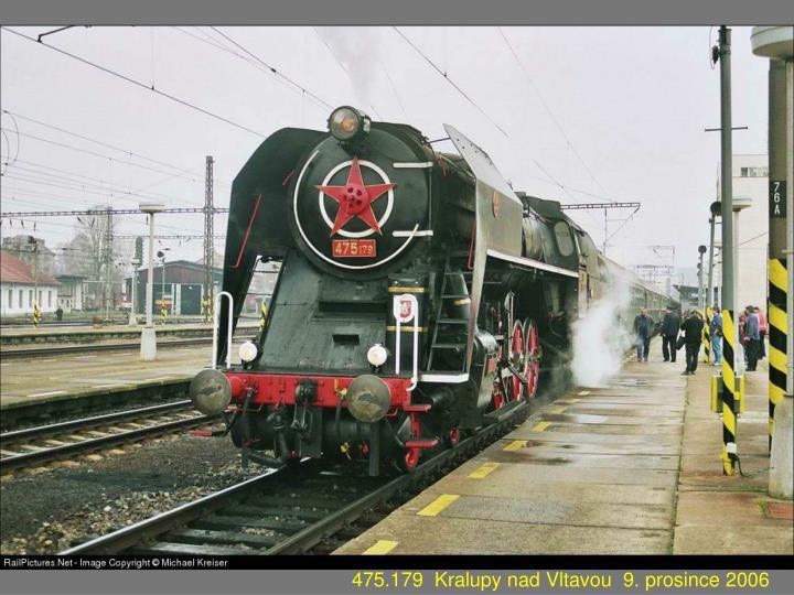 475.179  Kralupy nad Vltavou  9. prosince 2006