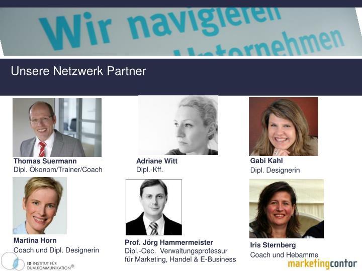 Unsere Netzwerk Partner
