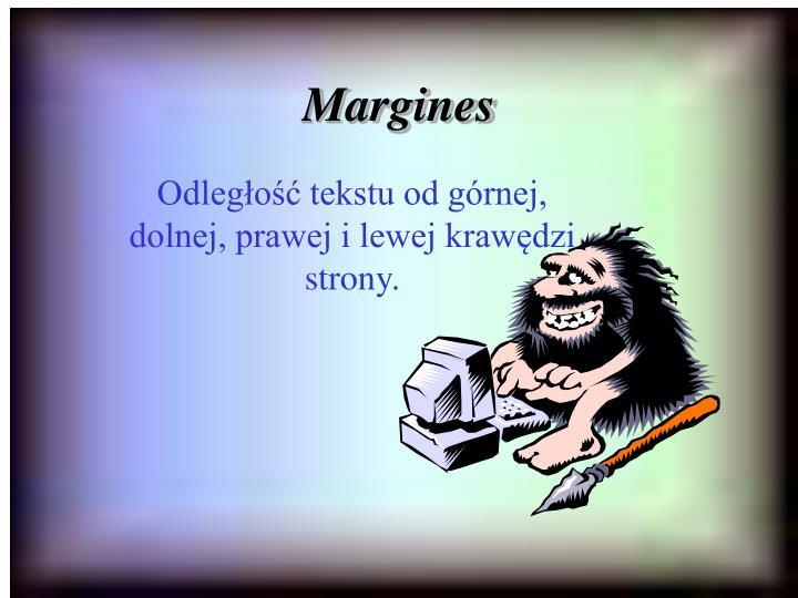 Margines